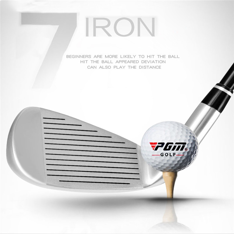 PGM No.7 Irons Golf Club Hardcore Stainless Steel 940 mm Right Handed Practice Pole Push Rod Wedge Men's Golf Putter Training-in Golf Clubs from Sports & Entertainment