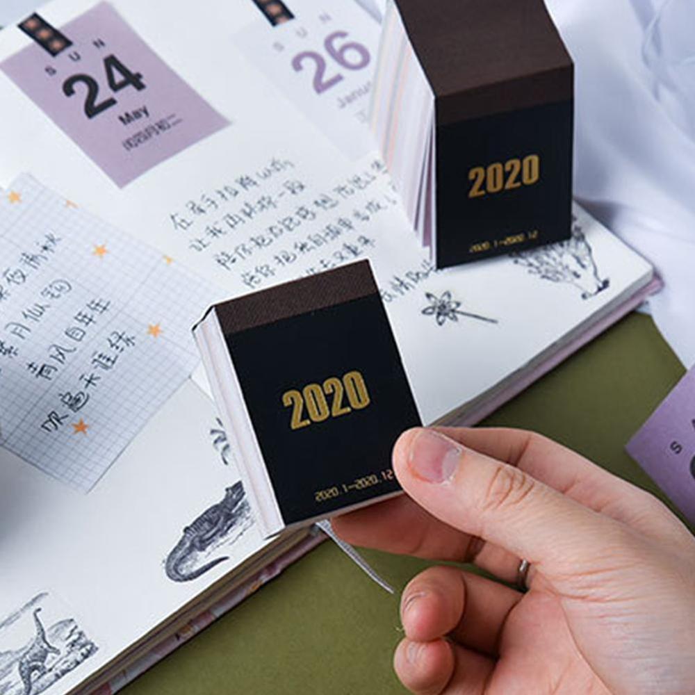 Creative Simplicity 2019 2020 Mini Calendars DIY Bullet Journal Sticker Learning Schedule Planner No Sticky