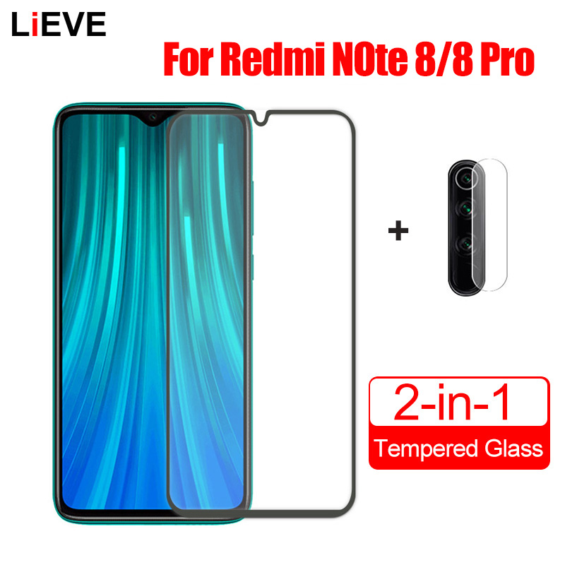 For Xiaomi Redmi Note 8 Pro Glass On Redmi Note 8 8T Note 7 9S 9 Pro Max Tempered Glass Protective Camera Lens Screen Protector(China)