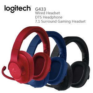 Logitech G433 Wired Headset DTS Headphone 7.1 Surround Gaming Headset with Mic Nintendo Switch PS4 Xbox One tablets and mobile