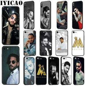 Мягкий силиконовый чехол IYICAO Singer Maluma для iPhone 11 Pro Max XR X XS Max 6 6S 7 8 Plus 5 5S SE