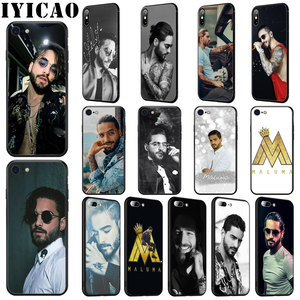 IYICAO Singer Maluma Soft Silicone Case for iPhone 11 Pro Max XR X XS Max 6 6S 7 8 Plus 5 5S SE Phone Case(China)