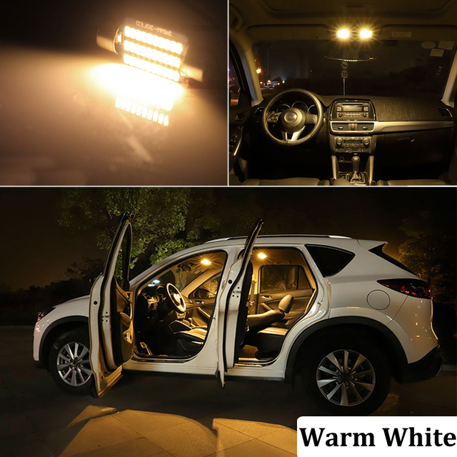 BMTxms Canbus No Error Auto LED Interior Map Dome Trunk License Plate lamp light Kit For Dodge Grand Caravan 1996-2020 6