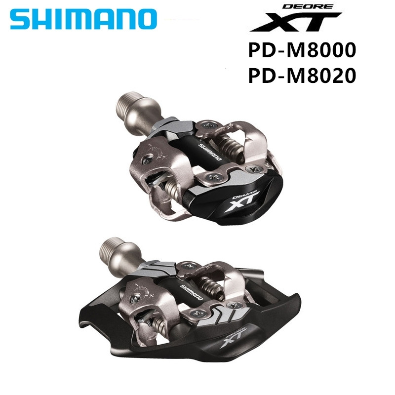 <font><b>Shimano</b></font> <font><b>Xt</b></font> Pd M8000 <font><b>M8020</b></font> Self -locking Spd <font><b>Pedal</b></font> Components Using For Mtb Bicycle Race Parts image