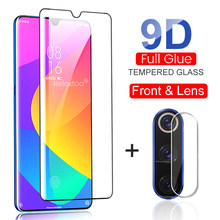 2-in-1 camera lens film protective glass for xiaomi mi 9 8 se a3 a2 lite a1 9t pro cc9 cc9e tempered glass xiomi mi9t mi9 mi9se(China)