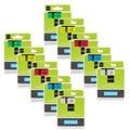 6/9/12 мм кассета для DYMO D1 Tape 45013 40913 43613 45010 45016 45017 45018 45019 этикетка кассета для DYMO принтер DYMO LabelManager 160 280