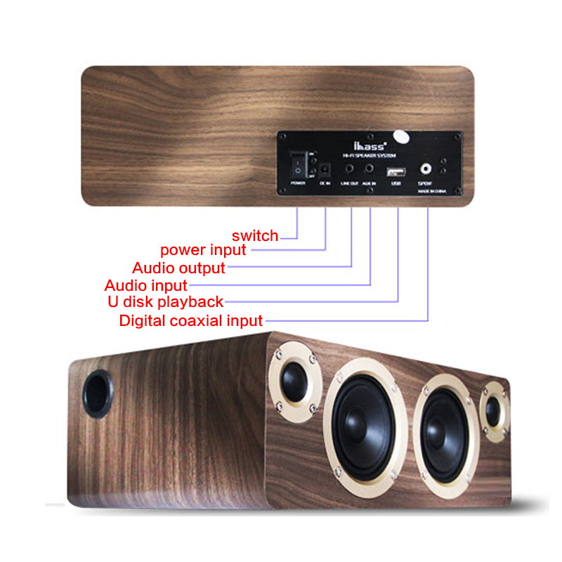 90W High Power Bluetooth Subwoofer Speaker Home 4 Speakers Computer TV HiFi Fever Audio Car Subwoofer DIY Active Speaker Coaxial