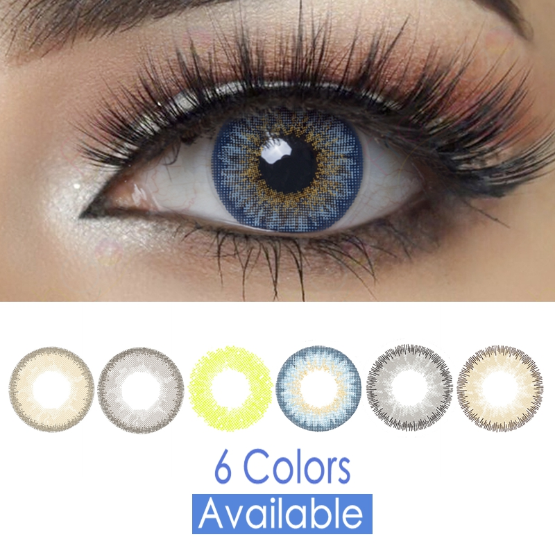 Glow Colored Contacts
