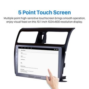 """Image 3 - Seicane 10.1 """"samochodowy odtwarzacz multimedialny dla 2005 2006 2007 2008 2009 2010 Suzuki Swift Android 10.0 HD dotykowy ekran nawigacji GPS"""