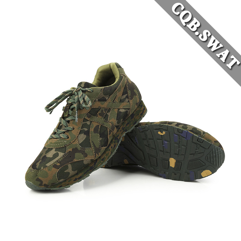 CQB. Swat Camouflage Running Shoes 1.0 New Casual Running Shoes Camouflage Shoes New Style Running Shoes Outdoor Running Shoes