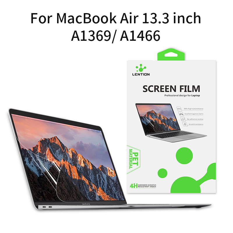 Lention Notebook Screen Protective Film For Macbook Air 13 Inch HD A1369 A1466 Laptop Screen Eye Protection Computer Accessories