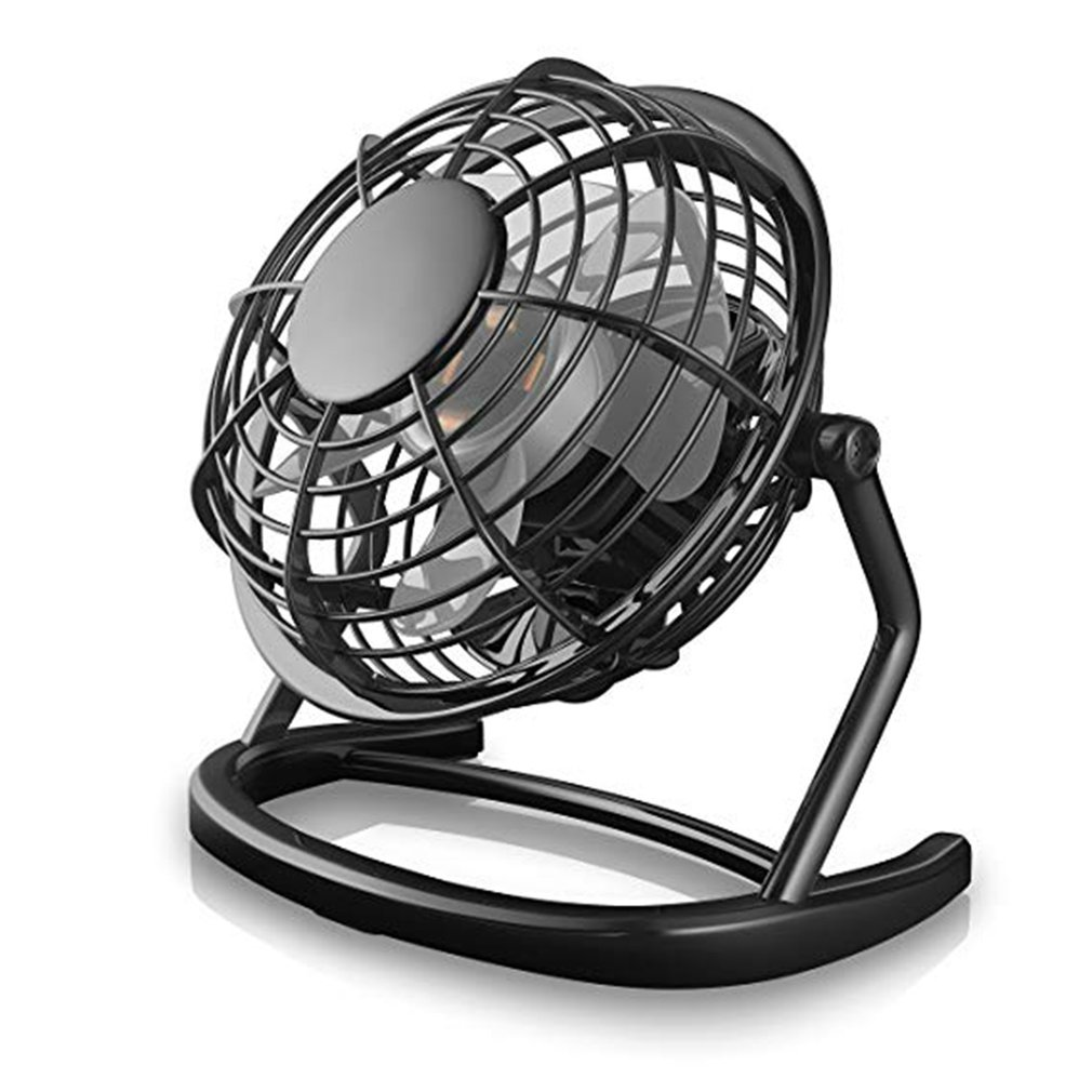 1Pc Usb Ventilator Mini Portable Small Fan Desktop Small Fan Creative Fan Dormitory Silent Fan 4 Inch