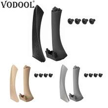 VODOOL 2 шт. Левая Правая сторона автомобиля внутренняя дверь подлокотник панель Ручка Потяните Накладка для BMW E90 E91 3 серии Авто дверные ручки набор