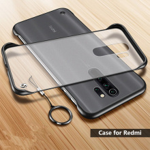 Чехол для телефона Xiaomi Redmi Note 7 8 Pro Чехол без рамки для Redmi 8 8A 7A Note 5 прозрачный матовый с кольцом