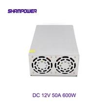 цена на DC 12V Big Power Supply 600W 50A AC 110V/220V To DC 12V Switch Power Supply Security Adapter Power Supply For LED Strip Light