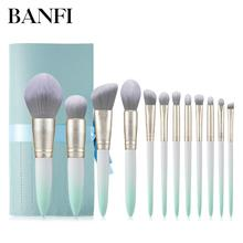 12PCs Makeup Brushes Set Cosmetic Tools Professional Makeup Brush Kit Women Beauty Essential Make up Brushes Set For Face New
