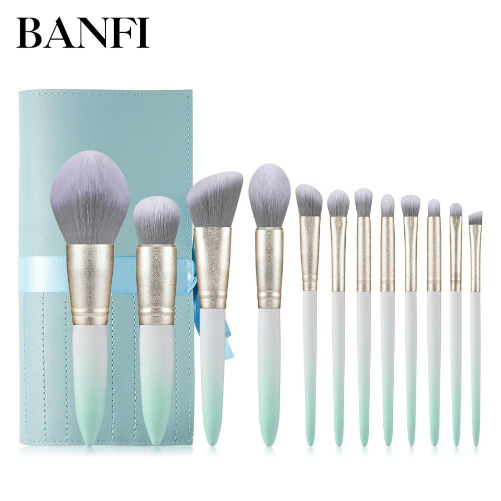 12PCs Makeup Brushes Set Cosmetic Tools Professional Makeup Brush Kit Women Beauty Essential Make-up Brushes Set For Face New