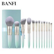 12PCs Makeup Brushes Set Cosmetic Tools Professional Makeup Brush Kit Women
