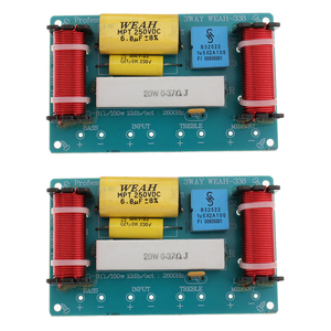 Image 3 - 2 Sets Frequency Divider 3 Way Filters Bass Frequency Distributors For Car Home Speaker