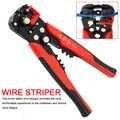 0.2-6.0mm2 crimper cabo cortador de fio automático descascador multifuncional descascamento ferramentas friso alicate terminal