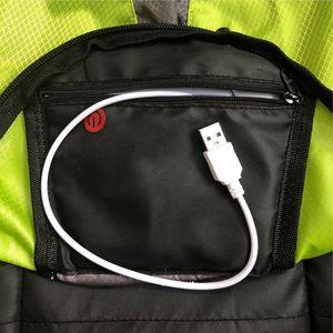 Image 5 - Torba na rower wodoodporny plecak sportowy 15L światło kierunkowskazu LED pilot zdalnego sterowania torba bezpieczeństwa odkryty piesze wycieczki plecak do wspinaczki