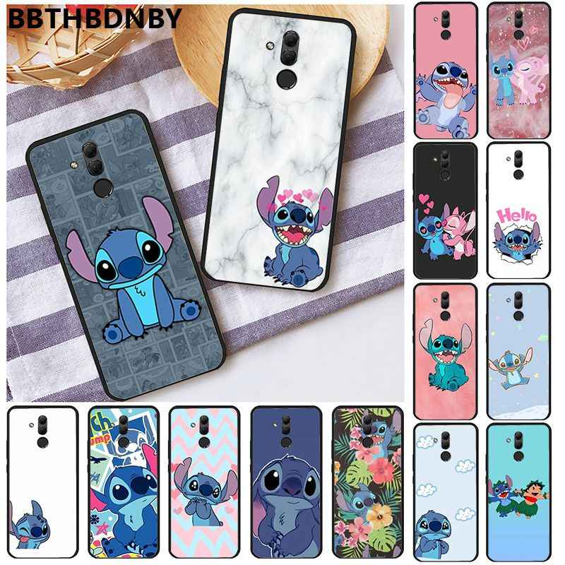 Phone Case Cartoon Stitch Luxury Unique Design Phone Cover for Huawei P10 lite P20 pro lite P30 pro lite Psmart mate 20 pro lite