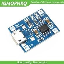 10 sztuk 5V 1A Micro USB 18650 bateria litowa płytka ładująca moduł ładowarki + ochrona podwójne funkcje TP4056