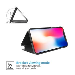 Image 3 - กระจกกรณีพลิกสำหรับ iphone 5s 5 se Clear view ฝาครอบ iphone 6 6s 7 8 plus สำหรับ iphone XR Xsmax ป้องกัน