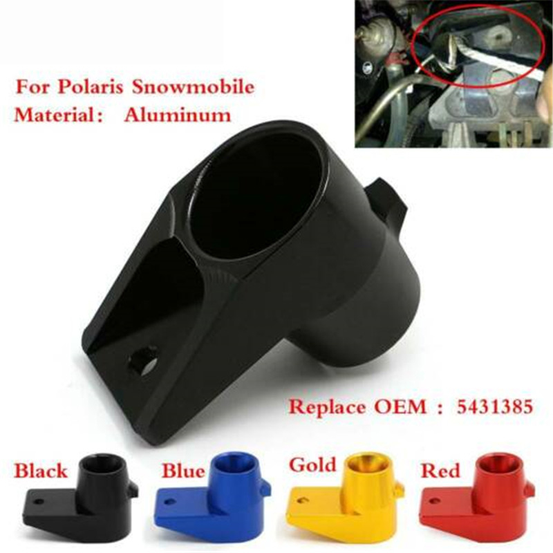 Custom made aluminum upper Pull rope guide Pull String compatible for Polaris 92-08 5431385 Snowmobile Sled image