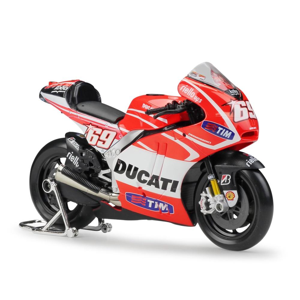 Maisto 1:10 DUCATI Desmosedici Team Racing Die-Cast Motorcycle