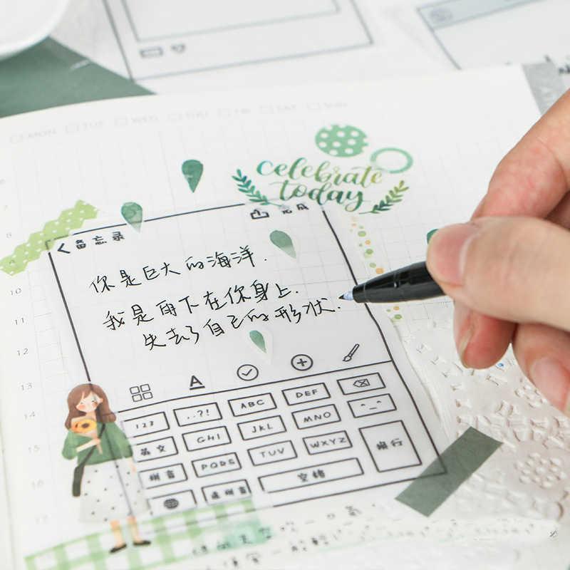 Мохамм серная кислота бумага для заметок креативная милая бумага для заметок 4 выбора