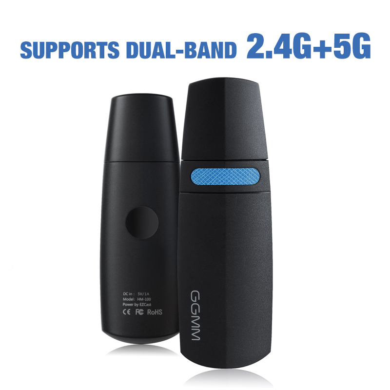 GGMM Miracast <font><b>TV</b></font>-Stick Wireless WiFi <font><b>Dongle</b></font> AirPlay HD 1080P Display Mini HDMI <font><b>Dongle</b></font> Unterstützung 5G/2,4G DLNA AirPlay EZmira Spiegel image