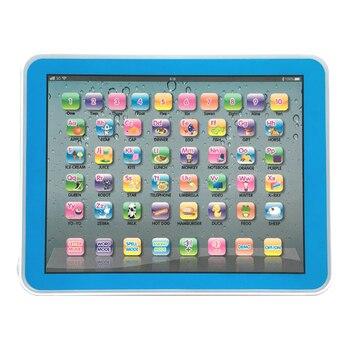Creativo Inglese di Apprendimento Educativo Pad Libro di Lettura Tablet Developmental Giocattolo per I Bambini Regali Di Natale Oc16