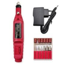 Nail-Drill-Machine-Kit Manchine Professional Manicure Pedicure Nail-Art Eu-Plug Electric-Manicure