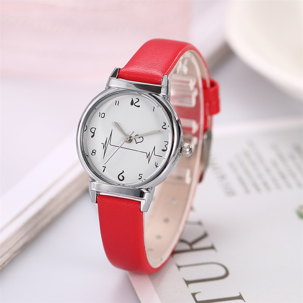 Man Watch Simple Belt Models Creative Heart-Feeling Quartz Watch erkek kol saati montre homme 2019 luxe de marque zegarki meskie