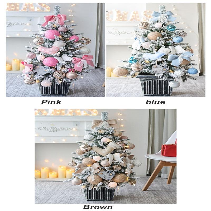 Рождественская елка, праздничный подарок, украшение рождественской елки, комбинированное украшение для торгового центра, рождественские украшения - 5