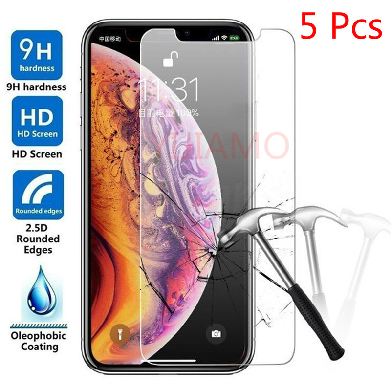 Screen Protector For IPhone 11 Pro XS MAX Tempered Glass Ecran For IPhone XR XS X 8 7 6s Plus Screen Protection Cristal Templado