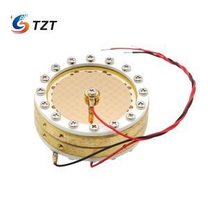 Image 3 - TZT 34 мм Капсула большая мембранная конденсаторная микрофонная капсула двухсторонняя позолоченная для записи студии Micphone