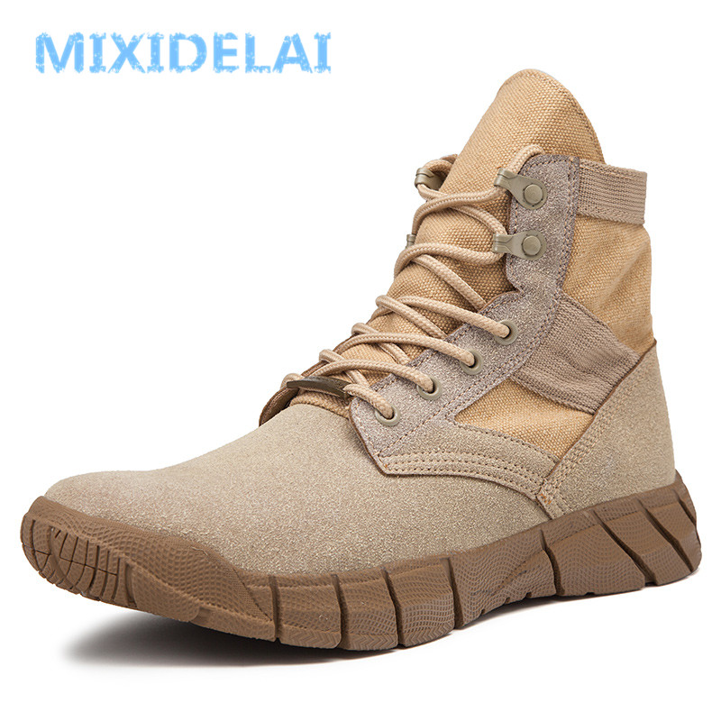 2019 New Autumn Winter Warm Plush Men's Boots Suede Leather Snow Boots Non-slip Working Boots Outdoor Ankle Boots Size 39-47