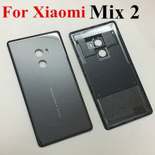 Xiaomi Mi X2 세라믹 배터리 커버 믹스 2 Xiaomi mi mix2 배터리 커버 용 후면 도어 백 하우징 케이스 교체