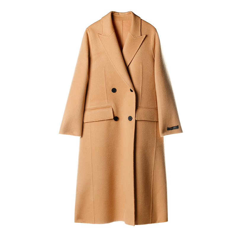 Wool overcoat autumn and winter version cashmere loose casual sheep wool women 2019