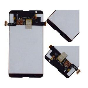 """Image 3 - 4.7 """"מסך עבור SONY Xperia E4G LCD מסך מגע Digitizer עצרת עבור Sony E4G תצוגה עם החלפת מסגרת E2003 e2006 E2033"""