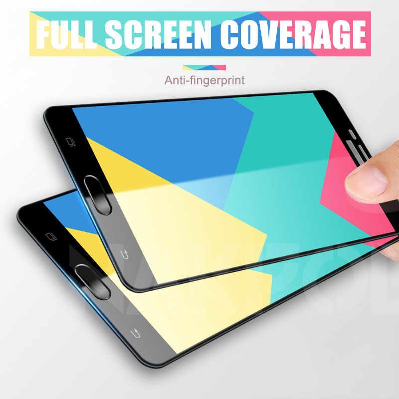 Vidrio Protector 9D para Samsung Galaxy J3 J5 J7 Samsung A3 A5 A7 2016 2017 S7 Protector de pantalla templado Film Case