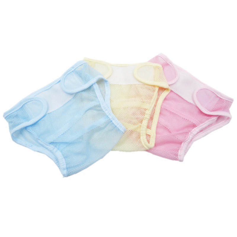 Summer Baby Cloth Diapers Eco-friendly Diaper Cover Wrap Baby Training Pants Travel Baby Pants Washable Reusable Fit 3-15kg