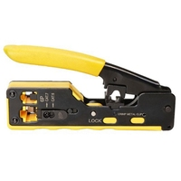 All in One EZ RJ45 Tool Network Crimper Cable Crimping Tools for RJ45 Cat7 Cat6 Cat5 RJ11 RJ12 Modular Plugs Metal Clips Pliers|Pliers| |  -
