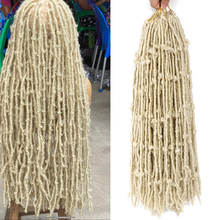 Butterfly Hair Braiding Distressed Hair-Blonde-Extensions 613 for Women 18-22 24-Inches