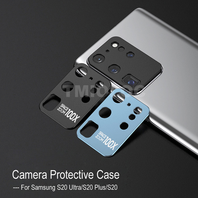 Metal Phone Camera Lens Protective Case For Samsung S20 Plus S20+ Full Cover Lens Screen Protector Film For Galaxy S20 Ultra 5G
