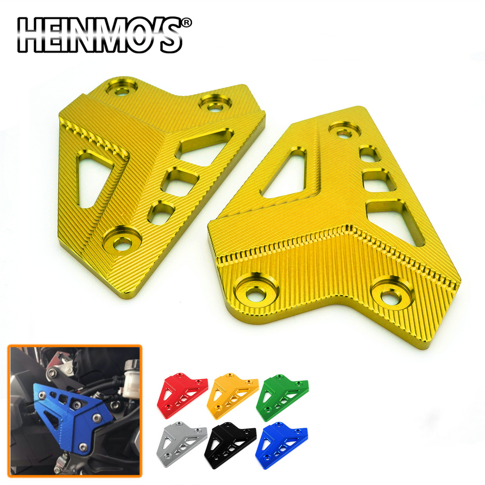 For Kawasaki Z900 Z 900 Z-900 2017 Motorcycle Accessories Aluminum Footrest Pedal Cover Foot Pegs Heel Plates Guard Protector