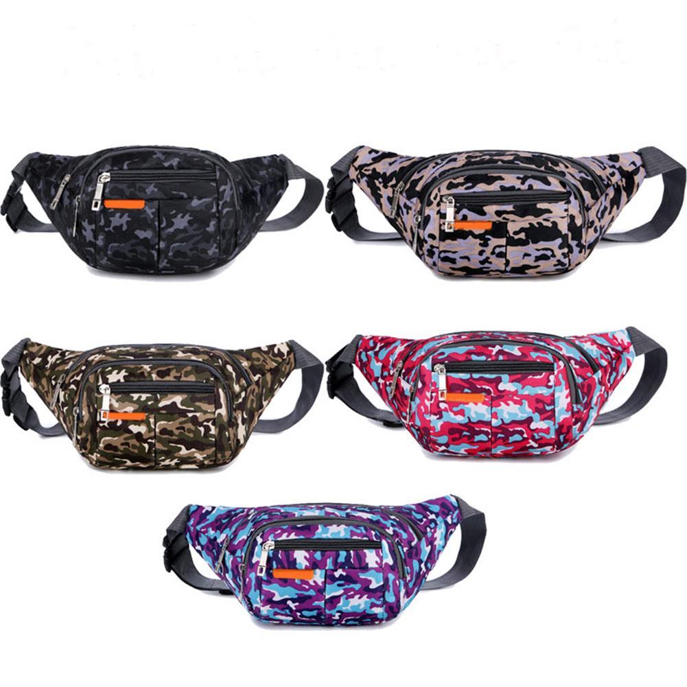 Nylon Waist Pack Men Women Fashion Multifunction Fanny Pack Bum Bags Hip Money Belt Travel For Mobile Phone Bag Unisex