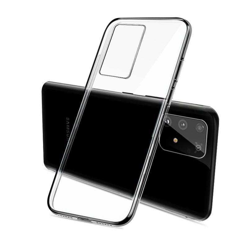 Ultra Thin Clear Transparent Soft TPU Case For Samsung Galaxy A91 A81 A71 A51 Phone Case Cover